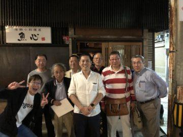 神奈川無痛分娩研究会の先生方による倉澤先生准教授就任祝いの画像