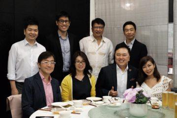 ビジネスミーティング in シンガポールの画像